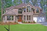 European Style House Plan - 4 Beds 3.5 Baths 3309 Sq/Ft Plan #314-267 Exterior - Front Elevation
