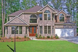 Home Plan - European Exterior - Front Elevation Plan #314-267