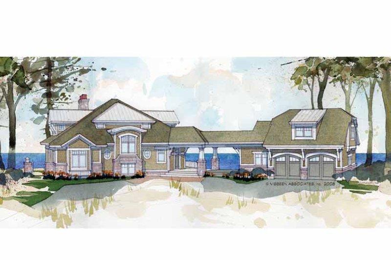 Craftsman Exterior - Front Elevation Plan #928-175 - Houseplans.com