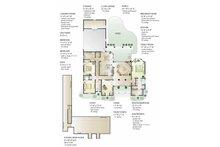 Country Floor Plan - Main Floor Plan Plan #406-9628