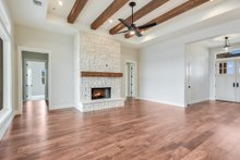 Dream House Plan - Craftsman Interior - Family Room Plan #430-179