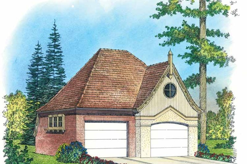 Victorian Exterior - Front Elevation Plan #1016-85