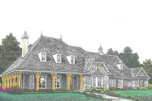 House Design - European Exterior - Front Elevation Plan #310-1278