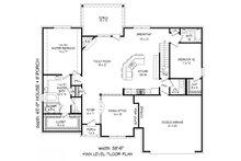 European Floor Plan - Main Floor Plan Plan #932-29