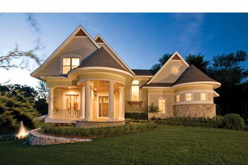 Victorian Exterior - Front Elevation Plan #56-694 - Houseplans.com
