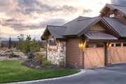 Craftsman Style House Plan - 3 Beds 4.5 Baths 3959 Sq/Ft Plan #892-16 Exterior - Other Elevation