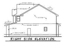 Traditional Exterior - Other Elevation Plan #20-2196