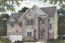 Traditional Exterior - Front Elevation Plan #453-519