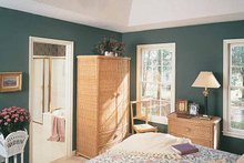 Architectural House Design - Country Interior - Bedroom Plan #929-190