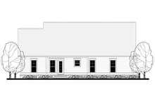Craftsman Exterior - Rear Elevation Plan #430-149