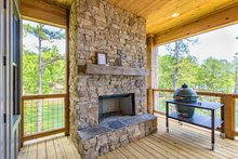 Traditional Exterior - Outdoor Living Plan #63-412