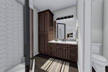 Ranch Interior - Master Bathroom Plan #1060-41