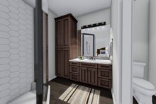 Home Plan - Ranch Interior - Master Bathroom Plan #1060-41