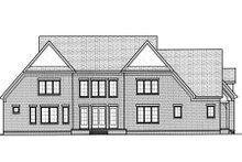 Home Plan - European Exterior - Rear Elevation Plan #413-834
