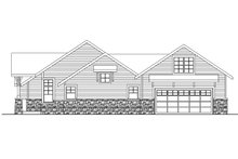 Craftsman Exterior - Other Elevation Plan #124-583