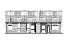 Dream House Plan - Traditional Exterior - Rear Elevation Plan #84-455