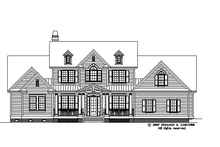 Architectural House Design - Country Exterior - Front Elevation Plan #929-831