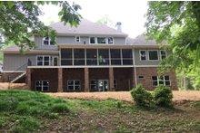 House Plan Design - Craftsman Exterior - Rear Elevation Plan #437-64