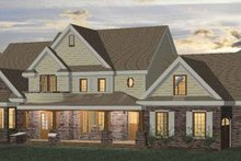 Classical Exterior - Front Elevation Plan #937-23