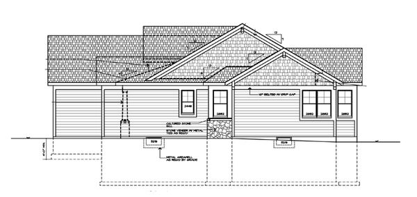 Craftsman Floor Plan - Other Floor Plan #328-363