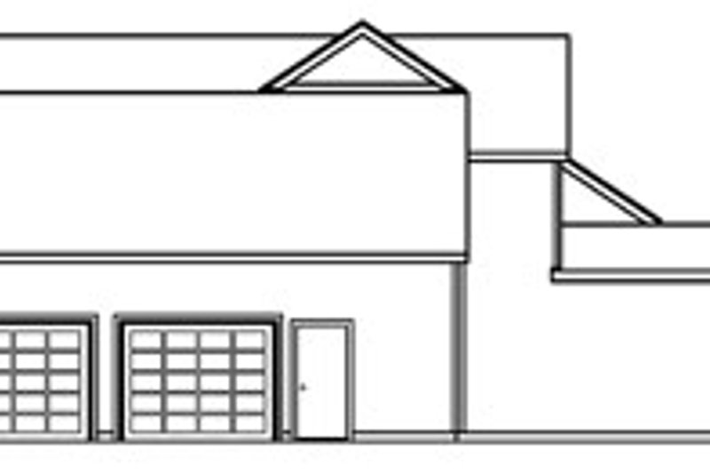 European Exterior - Other Elevation Plan #124-363 - Houseplans.com