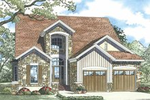 House Plan Design - Traditional Exterior - Front Elevation Plan #17-3268
