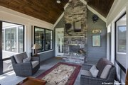 Craftsman Style House Plan - 4 Beds 4 Baths 2966 Sq/Ft Plan #929-988 Exterior - Other Elevation