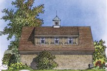 Home Plan - Country Exterior - Rear Elevation Plan #1016-76