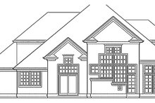Home Plan - Craftsman Exterior - Rear Elevation Plan #48-786
