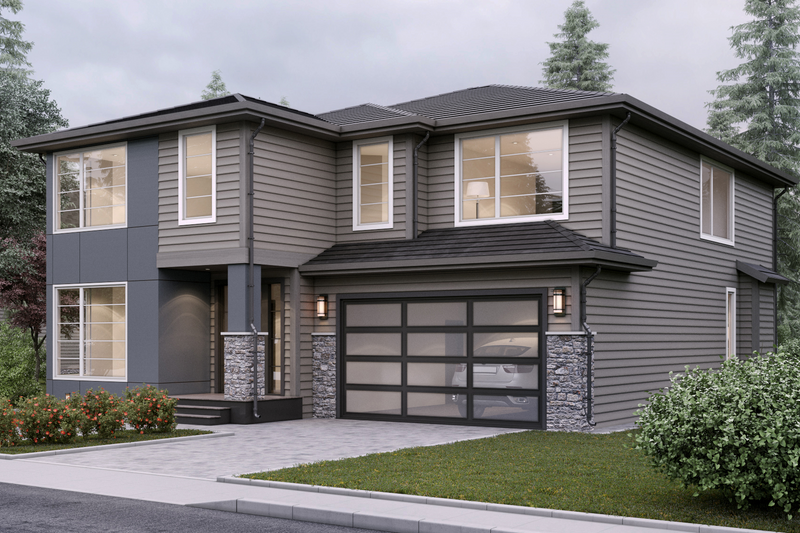Home Plan - Contemporary Exterior - Front Elevation Plan #1066-6
