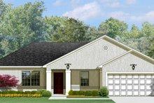 Architectural House Design - Mediterranean Exterior - Front Elevation Plan #1058-92