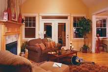 Architectural House Design - Country Interior - Family Room Plan #929-577