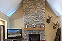 Craftsman Interior - Family Room Plan #929-1040