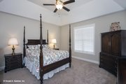 Traditional Style House Plan - 4 Beds 3 Baths 2607 Sq/Ft Plan #929-741 Interior - Master Bedroom