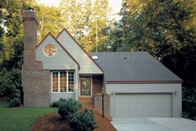 Country Exterior - Front Elevation Plan #320-732