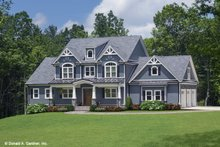 Architectural House Design - Craftsman Exterior - Front Elevation Plan #929-60
