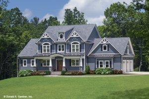 Craftsman Exterior - Front Elevation Plan #929-60