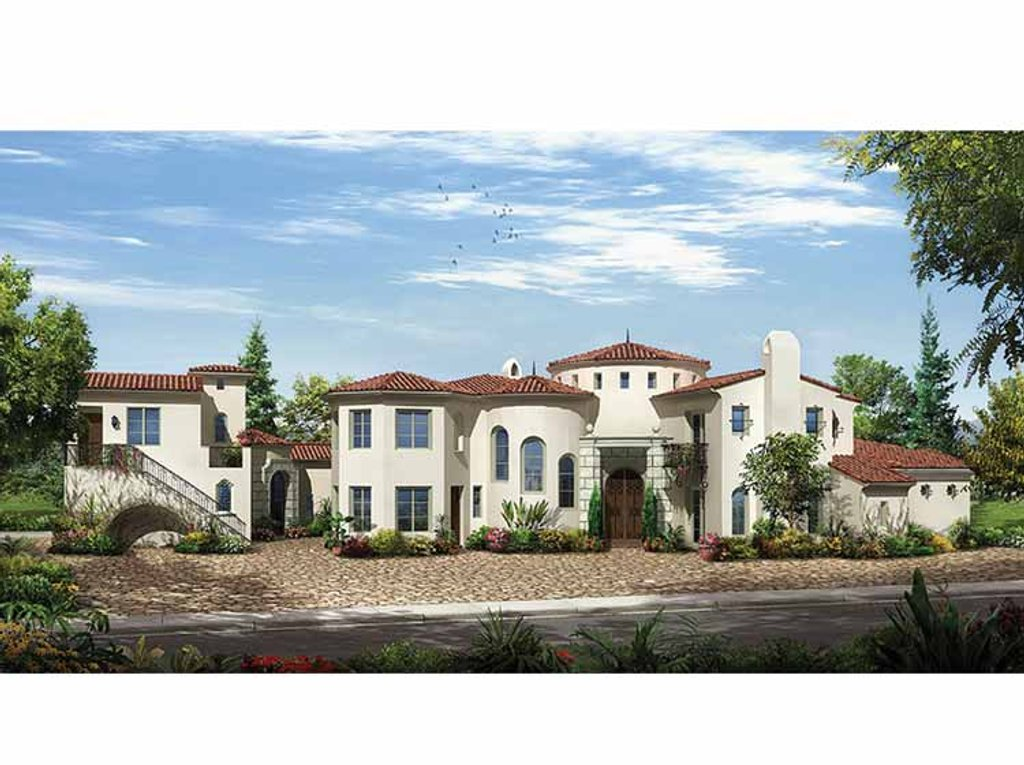 Mediterranean style house plan 5 beds 5 baths 7534 sq ft for Home plan com