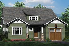 Architectural House Design - Craftsman Exterior - Front Elevation Plan #453-619