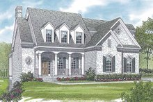 Country Exterior - Front Elevation Plan #453-555