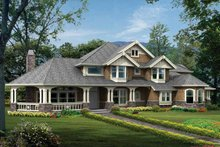 House Design - Craftsman Exterior - Front Elevation Plan #132-333