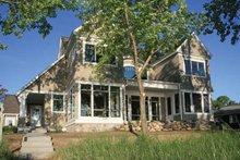 Architectural House Design - Craftsman Exterior - Rear Elevation Plan #928-171