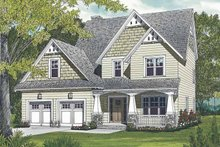 Home Plan - Craftsman Exterior - Front Elevation Plan #453-498