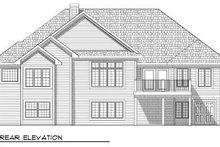 Traditional Exterior - Rear Elevation Plan #70-779