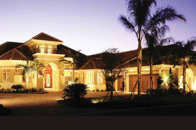 House Plan Design - Mediterranean Exterior - Front Elevation Plan #930-104