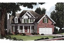 Home Plan - Country Exterior - Front Elevation Plan #927-385