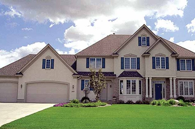 Traditional Exterior - Front Elevation Plan #51-958