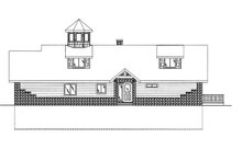 Colonial Exterior - Front Elevation Plan #117-845