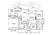 Farmhouse Style House Plan - 4 Beds 3.5 Baths 3626 Sq/Ft Plan #929-1000 Floor Plan - Main Floor