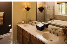 Country Interior - Master Bathroom Plan #929-701